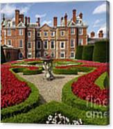 British Garden  Canvas Print