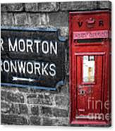 British Mail Box Canvas Print