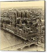 British Parliment Canvas Print