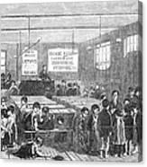 British Ragged School Canvas Print