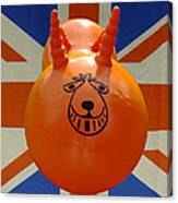 British Space Hopper Canvas Print