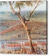 British Troops Surrender At Yorktown Canvas Print