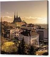 Brno Skyline  Canvas Print