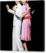 Broadway Melody Of 1940, From Left Fred Canvas Print