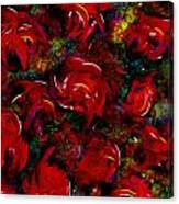 Broken Roses Canvas Print