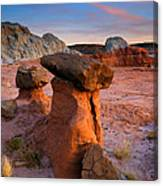 Brokentop Hoodoo Sunset Canvas Print