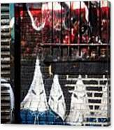 Bronx Graffiti - 3 Canvas Print