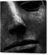 Bronze Mask Canvas Print