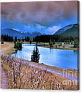 Brooding Skies Canvas Print