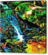 Brook Texture 86 Canvas Print