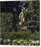 Brookgreen Golden Statue Canvas Print