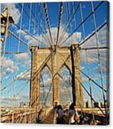 Brooklyn Bridge Summer Canvas Print