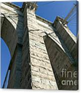 Brooklyn Bridge Tower I Canvas Print