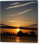 Brooklyn Sunrise Canvas Print