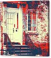 Brownstone 20 Canvas Print