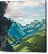 Bruecke To Heaven Canvas Print