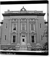Brunswick Historical Court House Canvas Print