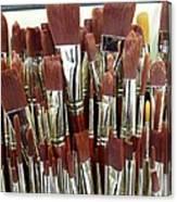Brush Stack Canvas Print