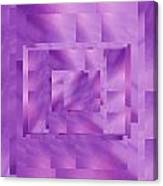 Brushed Purple Violet 11 Canvas Print