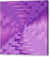Brushed Purple Violet 9 Canvas Print