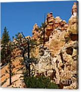 Bryce Canyon Santa Clause Canvas Print