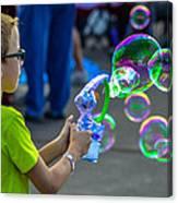 Bubble Boy Canvas Print