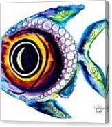 Bubble Fish One Canvas Print
