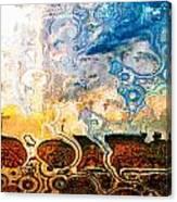 Bubble Landscape Abstract Canvas Print