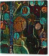 Bubble Tree - Spc01ct04 - Right Canvas Print