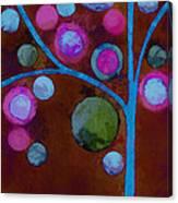 Bubble Tree - W02d - Left Canvas Print