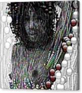 Bubble Woman Canvas Print