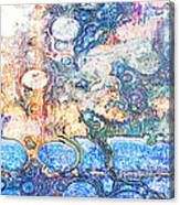 Bubbles Abstract Canvas Print