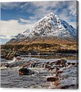 Buchaille Etive Mhor - Glencoe Canvas Print