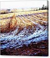 Bucks County Late Winter Fields Canvas Print