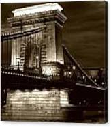 Budapest Nights Canvas Print