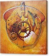 Buddah In An Acorn Canvas Print