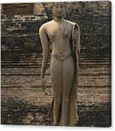 Buddha At Sukhothai 3 Canvas Print