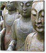 Buddha City2 Canvas Print