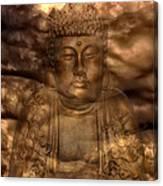 Buddha High Canvas Print