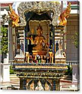 Buddha Shrine Canvas Print