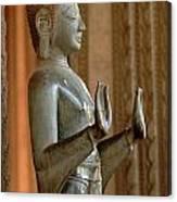 Buddha Vientienne Laos Canvas Print