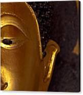 Buddha's Face Canvas Print