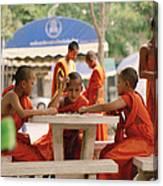 Buddhist Childhood Canvas Print