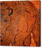 Buffalo Art Canvas Print