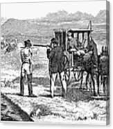 Buffalo Hunting, 1874 Canvas Print