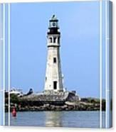 Buffalo Main Lighthouse Canvas Print