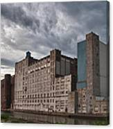 Buffalo Mills - The Backside Canvas Print