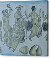 Buganda Musical Canvas Print