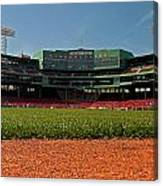 Bugs Eye View From Center Field Canvas Print