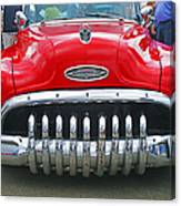 Buick With Teeth Canvas Print